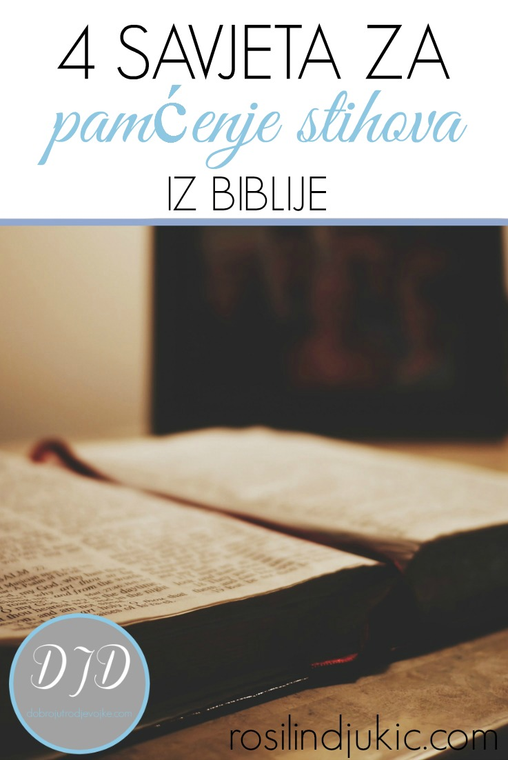 4 Tips for Memorizing Scripture